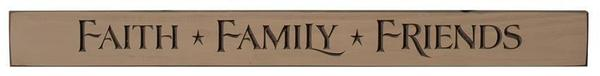Faith, Family and Friends Print - Made in the USA
