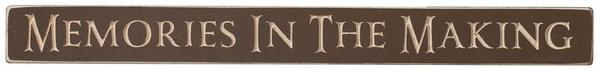 Rustic Home Decor Memories In The Making Sign