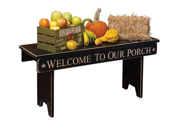 American Made 3' Message Bench