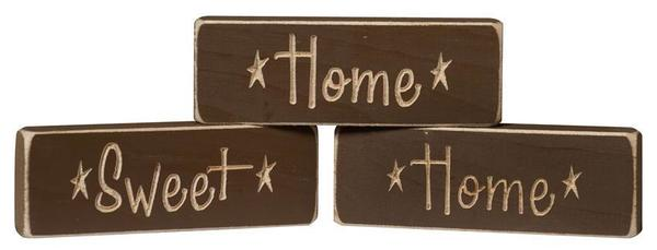 Farmhouse Decor Wood Signs Home Sweet Home