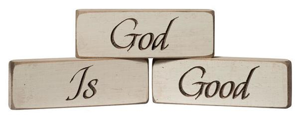 American Made God Is Good Inspirational Print