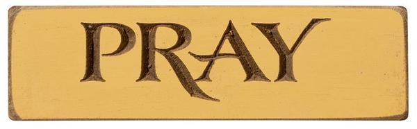 American Made Pray Inspirational Print