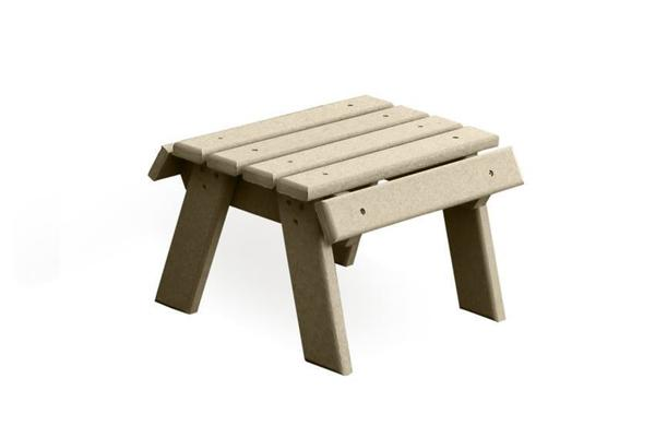 Amish Made Poly Outdoor Footstool