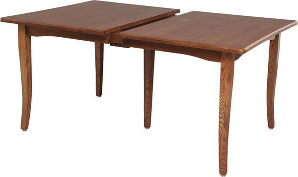 Amish Bunker Hill Dining Leg Table