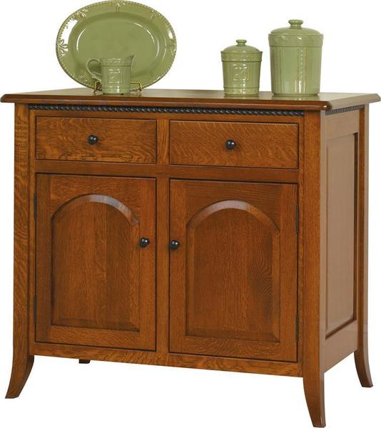 Amish Bunker Hill Small Buffet Sideboard