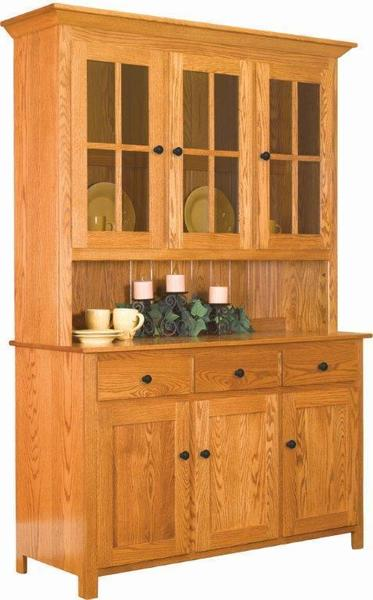Amish Old South Country Hutch