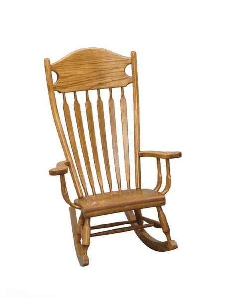 Amish Arrow-Back Legacy Kids' Rocking Chair