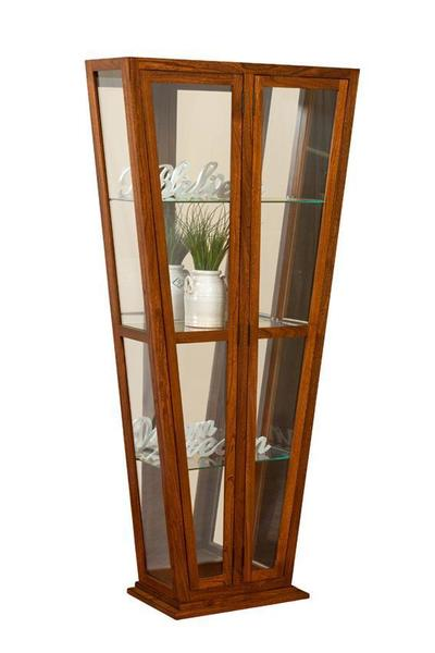 Melody Amish Contemporary Curio Cabinet