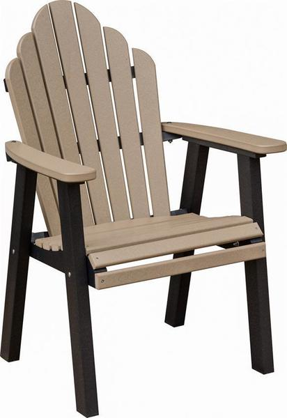 Berlin Gardens Poly Cozi-Back Dining Chair