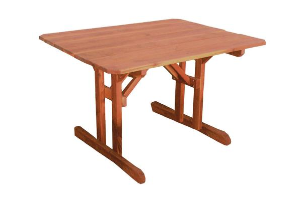 Amish Cedar Wood Outdoor Picnic Table