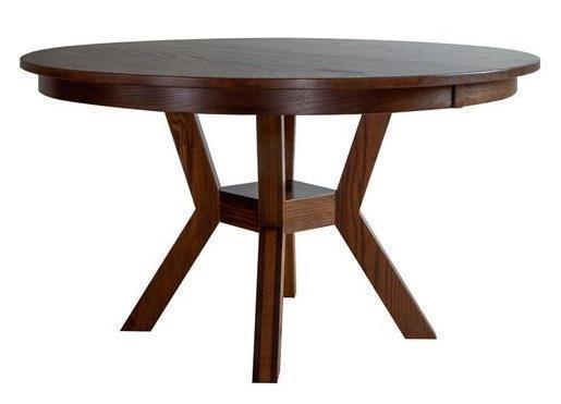 Amish Fulton Round Dining Table