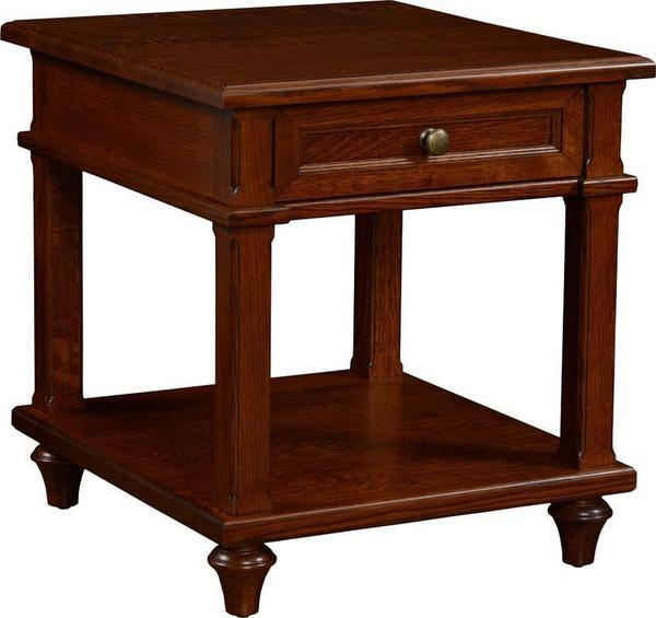 Amish Bridgeport End Table