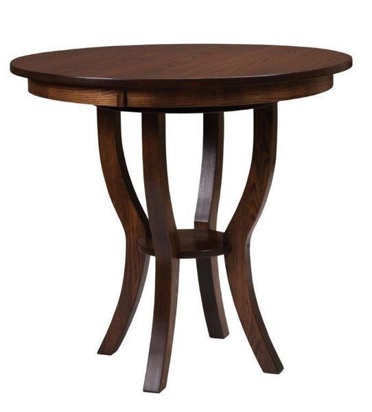 Amish Kokomo Bistro Pedestal Pub Table