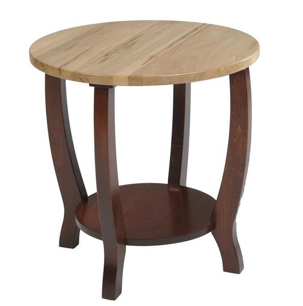 Amish Newport Contemporary End Table