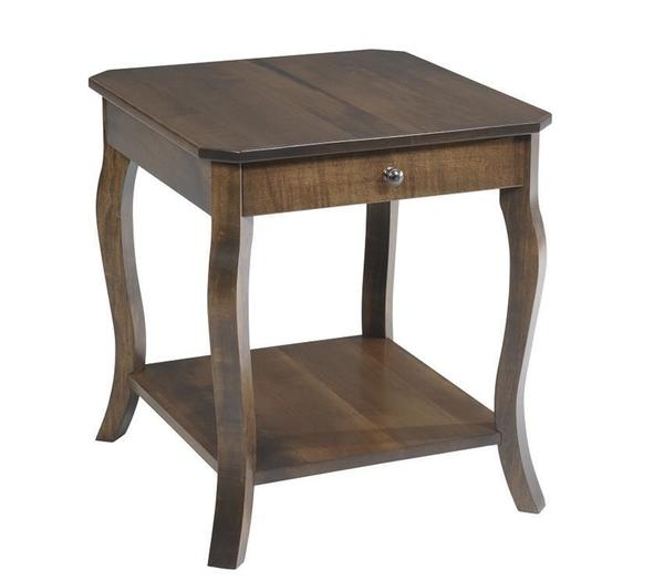 Amish Sundance French Country End Table