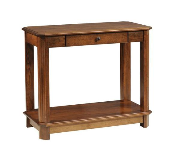 Amish Franchi Sofa Table