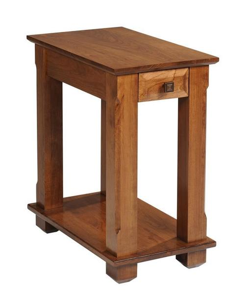 Amish Hampton Chairside Small End Table