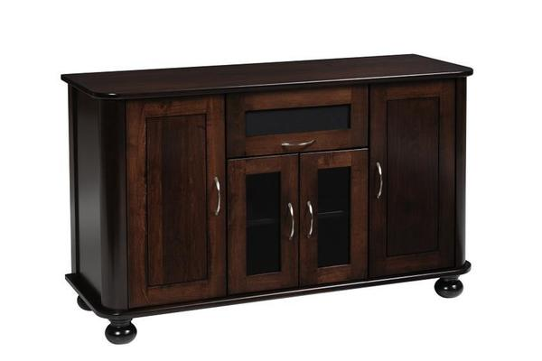Amish Metro Contemporary Small TV Stand Chest