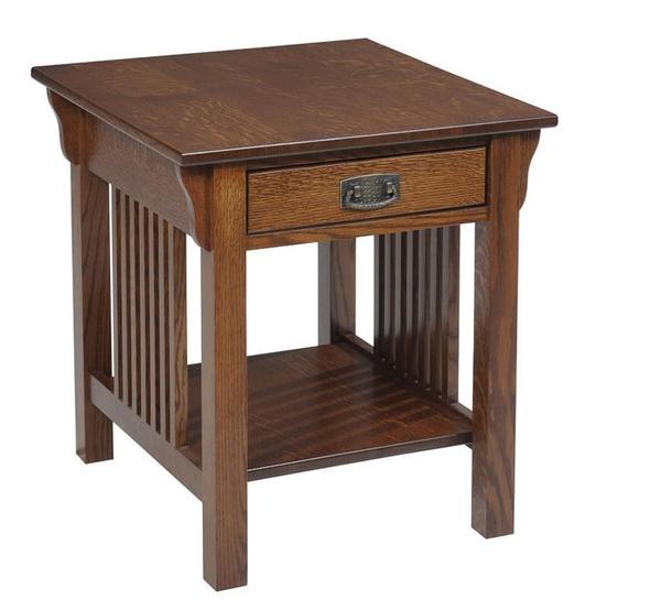 Amish Lexington Mission End Table