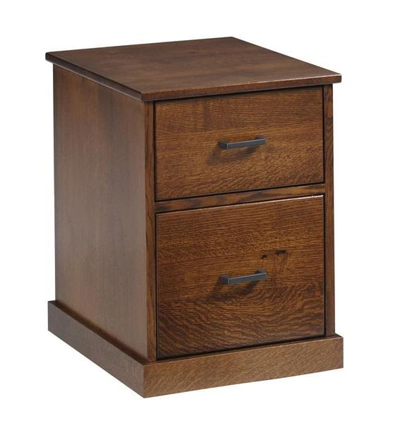 Amish Mission Rolling File Cabinet