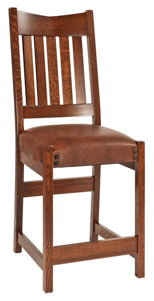 Amish Conner Mission Bar Stool