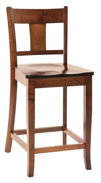Amish Ellington Bar Stool