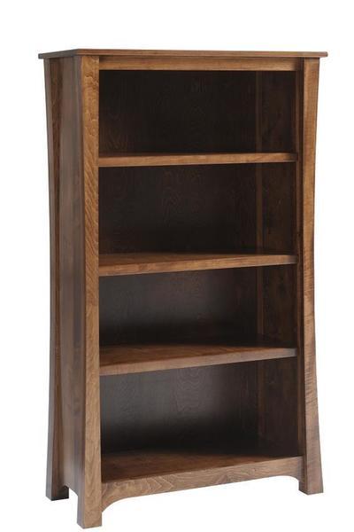 Amish Woodbury Executive Bookcase