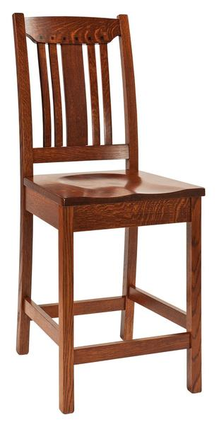 Amish Grant Mission Bar Stool