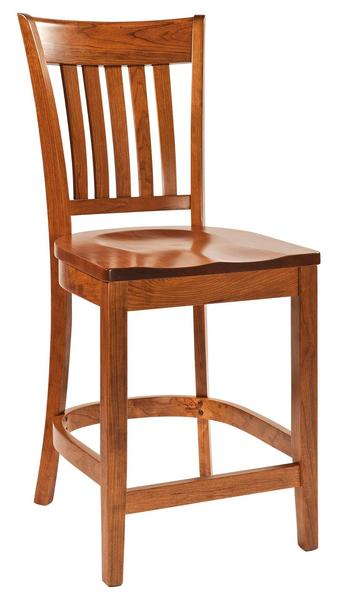 Amish Harper Bar Stool