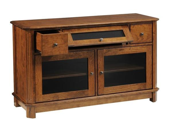 Amish Franchi Deluxe Storage TV Stand