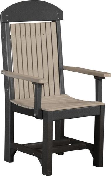 LuxCraft Poly Captain's Dining Chair