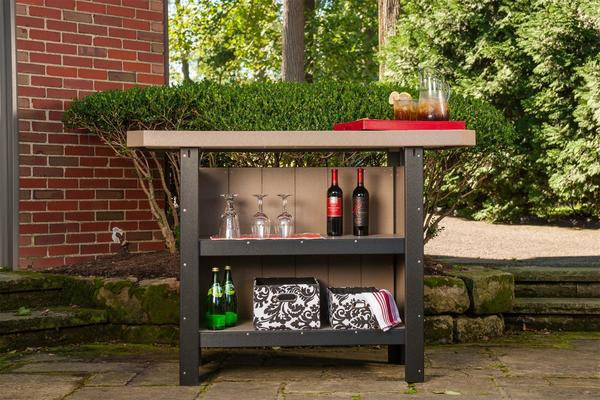 LuxCraft Poly Serving Bar