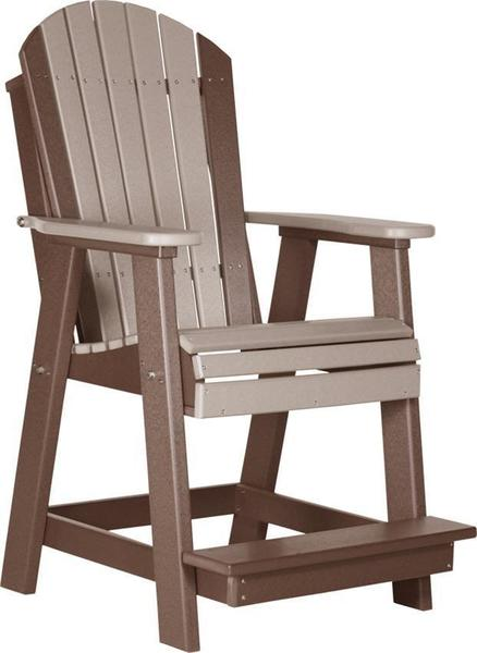LuxCraft Poly Adirondack Balcony Chair