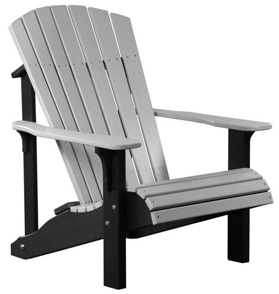 LuxCraft Deluxe Adirondack Poly Chair