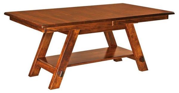 Amish St. Paul Trestle Table