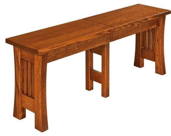 Amish Arts and Crafts Bench
