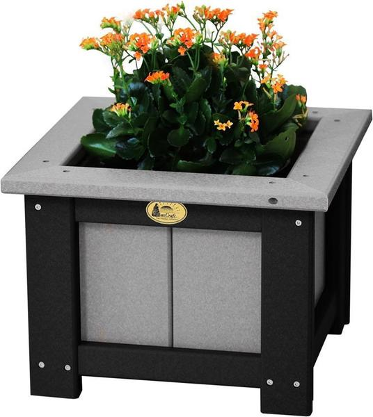 "LuxCraft 15"" Square Poly Planter"