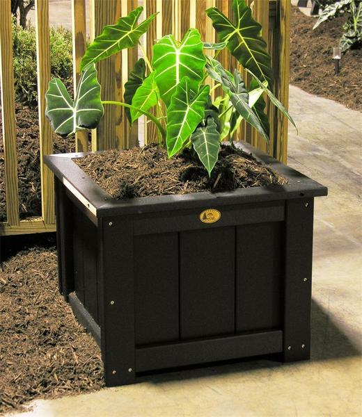 "LuxCraft Poly 24"" Square Planter"