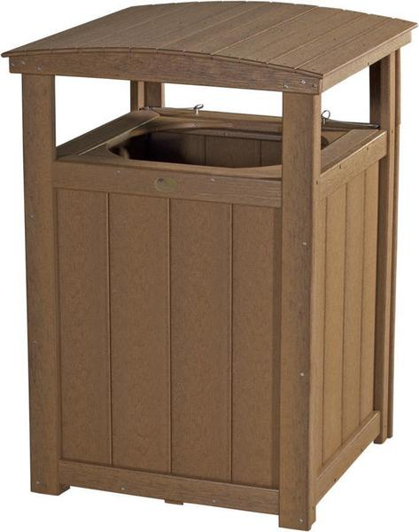 LuxCraft Poly Trash Can