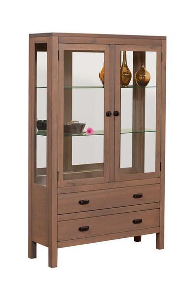 Amish Lillie Curio Cabinet