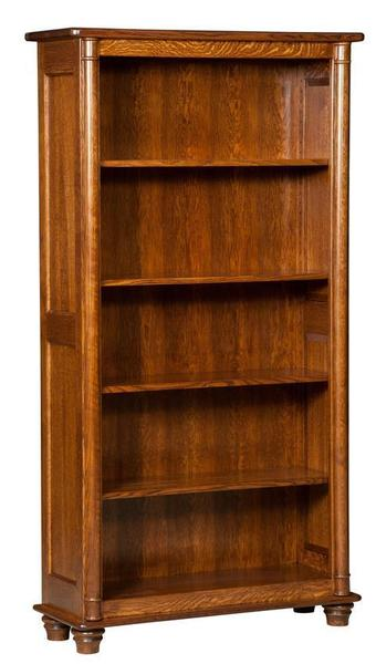 Amish Solid Wood Belmont Bookcase