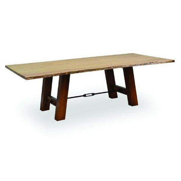 Amish Ouray Table with Live Edge