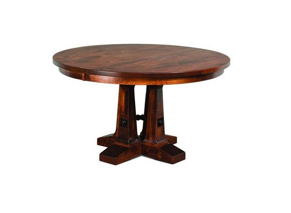 Amish Vienna Single Pedestal Table