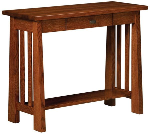 Amish Freemont Mission Open Hall Table