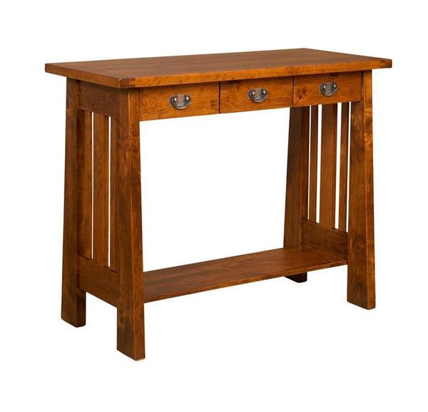 Amish Freemont Mission Writing Table Desk
