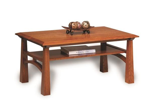 Amish Artesa Open Coffee Table