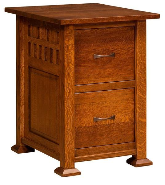 Amish Keystone File Cabinet