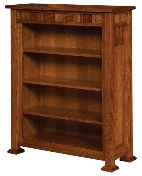 Amish Keystone Bookcase