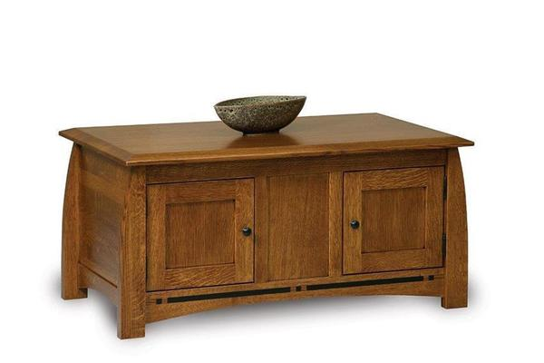 Amish Boulder Creek Coffee Table Cabinet