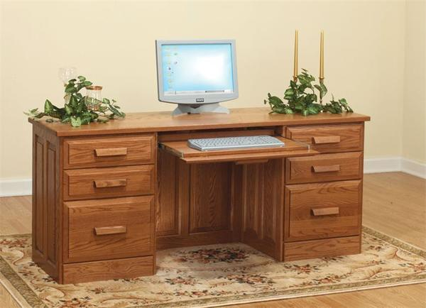 Amish Traditional Flat Top Desk